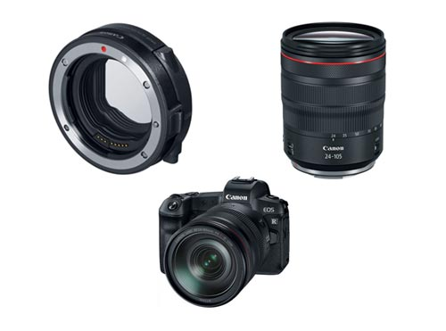 Canon-EOS-R-Mirrorless-camera-+-24-105mm-RF-Lens-Package-Deal